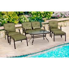 Courtyard Creations Patio Table by Courtyard Creations Madison 6 Pc Cushioned Sofa Set Patio Sets