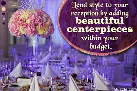 Ravishingly Gorgeous Wedding Reception Centerpieces On A Budget