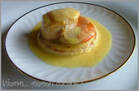 cuisiner les coquilles st jacques surgel馥s noix de st jacques crème au safran express mais raffiné