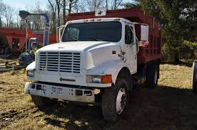 100 International 4700 Dump Truck Dump Truck160single Axle DT 466 Engine 10