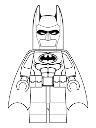 Coloring Page Lego Batman Movie