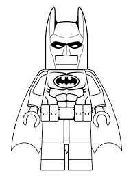 Coloring Page Lego Batman Movie