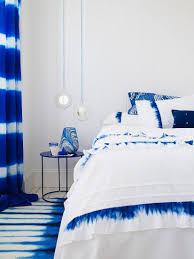 schlafzimmer in blau weiss mit bild kaufen 11227915