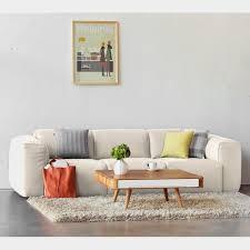 studio copenhagen sofa hudson i beige webstoff skandi