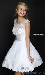 tendance robe de mariée 2017 2018 short high neck white sherri