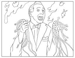 Coloring Pages Pee Wee Adult Book Page Jungle Pdf Animals Color Of Trees