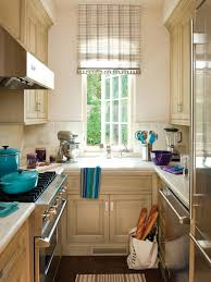 Kitchen Curtain Ideas For Bay Window by Small Kitchen Window Treatments Hgtv Pictures U0026 Ideas Hgtv
