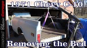 100 1967 To 1972 Chevy Trucks 1971 C10 How To Remove A Bed On A 72 C10