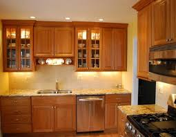 popular light cherry kitchen cabinets by countertops modern pool