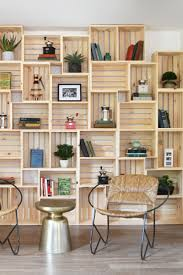 Wood Shelves Design Ideas by 25 Best Wood Crate Shelves Ideas On Pinterest Crates Crate