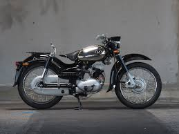 1958 Honda Benly Restoration