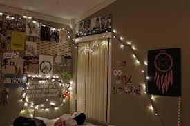 Nice Christmas Light Ideas Bedroom On Decor With