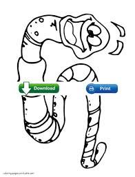 Smiling Worm Colouring Page For Kids