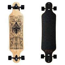 40004 - Atom Drop-Through Longboard - 40 Inch (Bamboo Tiki) — Atom ... 40 Ltm Drop Down Through Double Kick Complete Longboard Townscooter Forked Dropdown Longboards Sector 9 Orb Catapult 38 Platinum Atom Dpthrough Review Ride As Fuk Uerstanding Trucks 180mm Black Axis Buy Deck Reviewed And Rated Lgboardingnation Top Front View Of Our Hot Selling Flippin Board Co Bamboo Brokeskate 15 Pickup That Changed The World Best Longboards For Beginners Boardlife Whats Difference Through Vs Down
