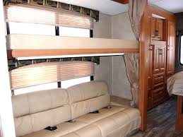 32 Class C Motor Home Living Room