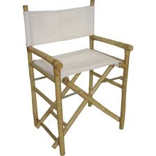 siege metteur en fauteuil metteur en scène pliant en bambou et c achat vente