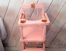 Wooden Pink Doll High Chair, Vintage Doll Chair, Decopauge Baby Animals,  Mid Century, 1950s, Rustic, Distressed Wood Kitchen Toy High Chair Star Bright Doll High Chair Wooden Dollhouse Kitchen Fniture 796520353077 Ebay Childcare The Pod Universal Dolls House Miniature Accessory Room Best High Chairs For Your Baby And Older Kids Highchair With Tray Antilop Silvercolour White Set Of Pink White Rocking Cradle Cot Bed Matching Feeding Toy Waldorf Toys Natural Twin Twin Chair Oueat Duo Guangzhou Hongda Craft Co Ltd Diy Mini Kit Melissa Doug 9382