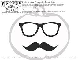 Preserving A Carved Pumpkin by Halloween Pumpkin Carving Templates Geekchic Mustache Glasses