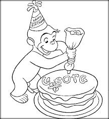 Happy Birthday Curious George Printable Books