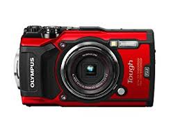 Amazon Olympus TG 5 Waterproof Camera with 3 Inch LCD Red
