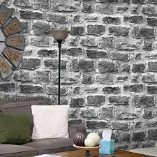 jz home 7036 zement ziegelstein tapete auf rollen grau weiß