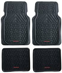Amazon.com: Firestone FS-1945 All-weather Black Heavy Duty Rubber ... Awesome Pickup Truck Floor Mats Weathertech Digital Fit Uncategorized Rv Perfect Driver Lovely Freightliner Office Ideas Linkart Lloyd Store Custom Car Best Mats Incredible Picture Weather Tech Fit Liner Protection Floorliner For Ford Super Duty 2017 1st For 3 Floorliners 14 Rubber Of 2018 Auto