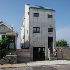 100 Concrete Home House Far Rockaway NY Architect Magazine Fontan
