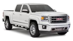 Bushwacker Extend-a-Fender Flares - 2014-2015 GMC Sierra 1500 ... 2014 Gmc Sierra Front View Comparison Road Reality Review 1500 4wd Crew Cab Slt Ebay Motors Blog Denali Top Speed Used 1435 At Landers Ford Pressroom United States 2500hd V6 Delivers 24 Mpg Highway Heatcooled Leather Touchscreen Chevrolet Silverado And 62l V8 Rated For 420 Hp Longterm Arrival Motor Lifted All Terrain 4x4 Truck Sale First Test Trend Pictures Information Specs