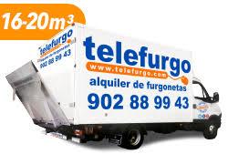 Alquiler de furgonetas para mudanzas Telefurgo