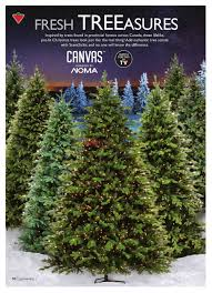 Best Real Christmas Tree Type Canada by Canadian Tire Destination Christmas Catalogue November 11 To