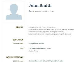 Resume Part Time First Job Template