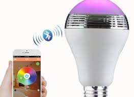 sony led bulb with color changing light and speaker lspx 102e26