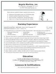 Nursing Student Resume Examples Template Pre