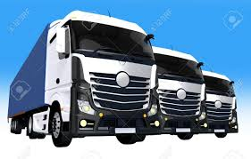 100 Concept Semi Trucks Cargo Fleet Illustration Three Euro