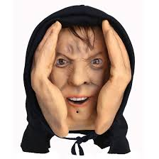 Halloween Scare Pranks by Animated Eyes Scary Peeper Halloween Prank Prop Scarypeeper