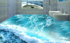 picture 3d designs dolphins pattern seaworld ceramic tile 3d wall