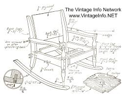 Adirondack Rocking Chair Woodworking Plans by Free Wooden Rocking Chair Plans Inspirations Home U0026 Interior Design
