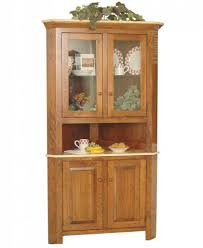 Ideas Corner Cabinet Of Oak Hutch Dining Room Desk With That