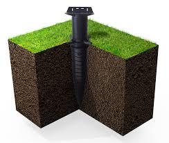 plot reglable pour terrasse bois poser une terrasse en bois sur pelouse terrasse bois