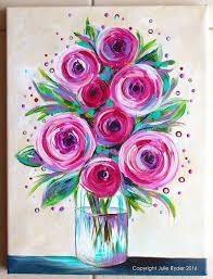 Julie Ryder Flowers And Swirls