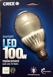 cree 100w led daylight 5000k dimmable light bulb review tom s