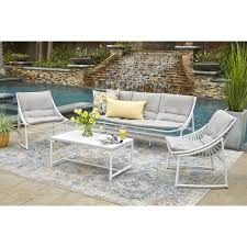 Havenside Home Plymouth 4-piece Indoor/Outdoor Sling Conversation Set With  Grey Fabric Cushions Patio Chairs At Lowescom Outdoor Wicker Stacking Set Of 2 Best Selling Chair Lots Lloyd Big Cushions Slipcove Fniture Sling Swivel Decoration Comfortable Small Space Sets For Tiny Spaces Unique Cana Qdf Ding Agio Majorca Rocker With Inserted Woven Alinium Orlando Charleston Myrtle White Table And Seven Piece Monterey 3 0133354 Spring China New Design Textile
