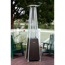 Pyramid Patio Heater Cover by Golden Flame Resort Glass Tube Pyramid Patio Heater Better