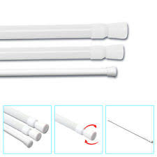 Twist And Fit Curtain Rod Uk by Tension Curtain Pole Ebay