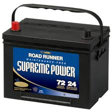 road runner supreme power battery 72 mo 690 cca by road runner at