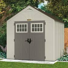 Rubbermaid Gable Storage Shed 5 X 2 by Suncast 8 X 7 Tremont Storage Shed Walmart Com