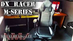 new gaming chair dx racer m series my first impressions m