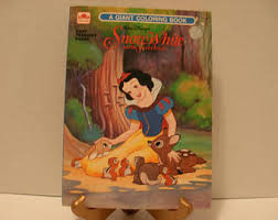 Snow White And The Seven Dwarfs Giant Coloring Book Walt Disneys Free Shipping