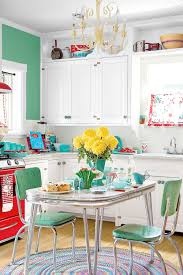 Retro Diner Decor Ideas Kitchen Vintage Style Cool Best Tremendous Theme Insight