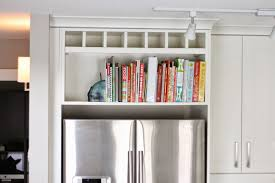 Kitchen Soffit Decorating Ideas by Cookbook Shelf Home Design Ideas